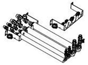 Picture of Panasonic   Aquarea Tubazioni flessibili e piastra per montaggio a parete per tutti i modelli All in One Generazione J - PAW-ADC-PREKIT-1