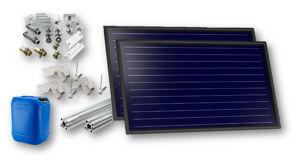 Picture of FKF 200 H | Kit 1 Collettore Solare  + Telaio per Falda con Tegole + Raccordi + 20 litri Antigelo