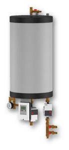 Picture of Drain-Back | Solbox con due Pompe WILO ad alta efficienza da 22 metri complessivi e Stazione Solare LTDC